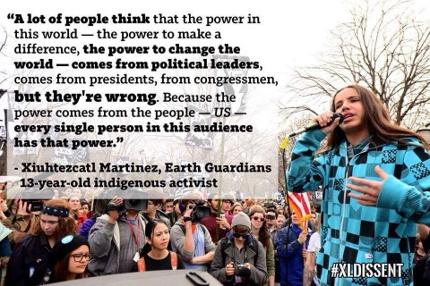 Youth Voice – Xiuhtezcatl Roske-Martinez